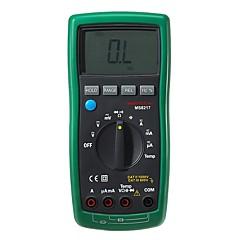 tanie Instrumenty elektryczne-Mastech ms8217 true rms miernik cyfrowy multimetr ac / dc tester rezystancji napięcia& pomiar temperatury