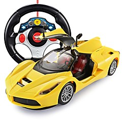 baratos Carros Controle Remoto-Carro com CR FLL-1 5 Canais 2.4G Automotivo (De Estrada) / Carro / Drift Car 1:14 Electrico Não Escovado 15 km/h Controlo Wireless de Flash / Electrónico / Controle Remoto