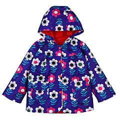 billige Jakker og frakker til piger-Børn / Baby Pige Blomstret Langærmet Jakkesæt og blazer
