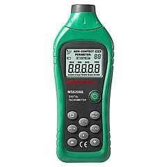 tanie Instrumenty elektryczne-Mastech ms6208b lcd cyfrowy laser fotografia obrotomierz rpm miernik non kontakt tacometro prędkość obrotowa 50rpm-99999rpm