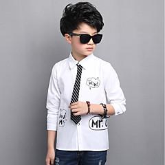 billige Overdele til drenge-Børn / Baby Drenge Ruder Langærmet Skjorte