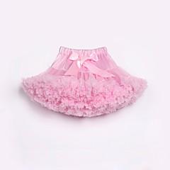 baratos Roupas de Meninas-Infantil / Bébé Para Meninas Estampa Colorida / Arco-Íris Saia