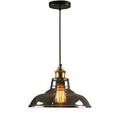 billiga Dekorativ belysning-QINGMING® Mini Hängande lampor Fluorescerande Elektropläterad Målad Finishes Metall Glas Ministil 110-120V / 220-240V