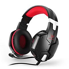 billiga Headsets och hörlurar-KOTION EACH G1200 Headband Kabel Hörlurar Hörlurar / Hörlur PP+ABS Spel Hörlur headset