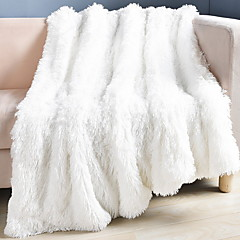 cheap Blankets & Throws-Sofa Throw, Geometric Polyester Comfy Blankets
