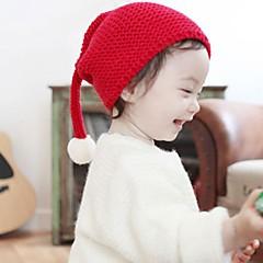 baratos Acessórios para Crianças-Infantil / Bébé Unisexo Activo Diário Sólido Capéus e Bonés Preto / Vermelho / Cinzento Tamanho Único