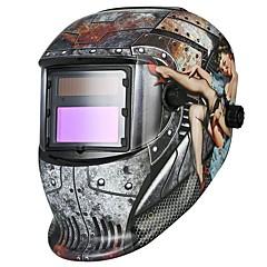 Χαμηλού Κόστους Ασφάλεια-1pcs PP Ματογυάλια συγκόλλησης / Αυτόματη μείωση / Ασφάλεια και προστατευτικό εξοπλισμό Μάσκες για ολόκληρο το πρόσωπο
