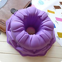 billige Bakeredskap-Bakeware verktøy silica Gel Kreativ Kjøkken Gadget Originale kjøkkenredskap Rektangulær Cake Moulds 1pc