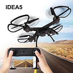 billige Fjernstyrte quadcoptere og multirotorer-RC Drone IDEA5 RTF 6CH 6 Akse 2.4G 640P Fjernstyrt quadkopter Hodeløs Modus / Flyvning Med 360 Graders Flipp / Sveve Fjernkontroll / 1 USD-kabel / Blader / Med 0.3MP HD-kamera