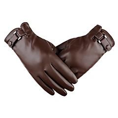 tanie Rękawiczki motocyklowe-Pełny palec Męskie Rękawice motocyklowe Skóra Ekran dotykowy / Zatrzymujący ciepło