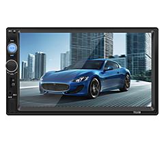 billiga DVD-spelare till bilen-7010B 7 tum 2 Din Bil MP5 Player Pekskärm / Inbyggd Bluetooth / Rattstyrning för Universell / Volvo / Volkswagen Stöd Mp3 / WMA / WAV JPEG / jpg
