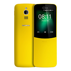 "billiga Mobiltelefoner-NOKIA 8110 2.4 tum "" 4G smarttelefon ( 512MB + 4GB 2 mp MSM8905 1500 mAh mAh )"