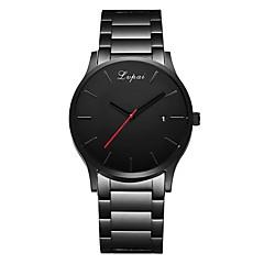 levne Luxusní hodinky-Pánské Náramkové hodinky Křemenný Černá Kalendář  Hodinky na běžné nošení Analogové Luxus 9e81f33771