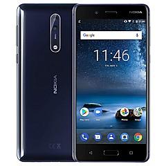 "billiga Mobiltelefoner-NOKIA 8 Global Version 5.3 tum "" 4G smarttelefon (6SE + 128GB Ficklampa / 13 mp Qualcomm Snapdragon 835 3090 mAh mAh) / 2560x1440"