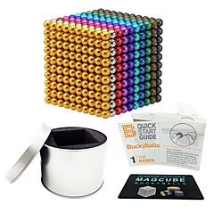 tanie Zabawki magnetyczne-1000 pcs 5mm Zabawki magnetyczne Kulki magnetyczne Zabawki magnetyczne Magnesy ziem rzadkich Magnetyczne Przeciwe stresowi i niepokojom Zabawki biurkowe Ukojenie przy ADD, ADHD, niepokojach, autizmie