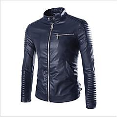 baratos Jaquetas de Motociclismo-AOWOFS PY60 Roupa da motocicleta Jaqueta para Homens PU Leather Primavera & Outono / Inverno Resistente ao Desgaste / Proteção