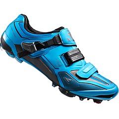 billige Sykkelsko-Voksne Mountain Bike-sko Pustende, Demping, Ventilasjon Sykling / Sykkel / Sykling Marineblå Herre Sykkelsko / Ultra Lett (UL) / ånd bare Blanding / Ultra Lett (UL)