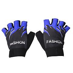 baratos Luvas de Motociclista-Meio dedo Todos Motos luvas Tecido Manter Quente / Anti-desgaste
