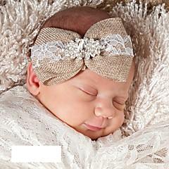 baratos Acessórios para Crianças-Bébé / Bebê Unisexo Diário Sólido Acessórios de Cabelo Marron Tamanho Único