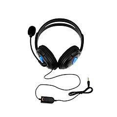 זול -DOBE other חוטי אוזניות עבור Sony PS4 ,  יצירתי / עיצוב חדש / מגניב אוזניות PVC 1 pcs יחידה