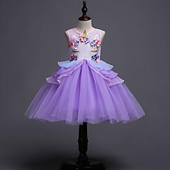 tanie Odzież dla dziewczynek-Dzieci / Brzdąc Dla dziewczynek Patchwork Bez rękawów Sukienka