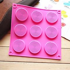 billige Bakeredskap-Bakeware verktøy Silikongel Kreativ Kjøkken Gadget Originale kjøkkenredskap Rektangulær Cake Moulds 1pc