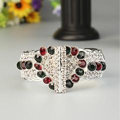 billiga Festtillbehör-Dam Klassisk Armringar - Stilig Armband Smycken Regnbåge Till Bröllop Party