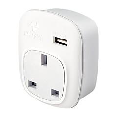 baratos Iluminação Decorativa-BULL 1pç Proteção infantil ABS + PC Adaptador de Energia 2500 W