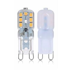 baratos Iluminação Decorativa-SENCART 4pçs 2 W 260 lm G9 Luminárias de LED  Duplo-Pin T 14 Contas LED SMD 2835 Novo Design / Decorativa Branco Quente / Branco 110-240 V