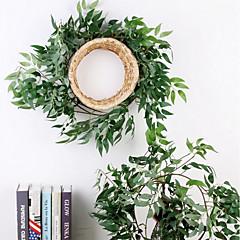 billige Kunstige blomster-Kunstige blomster 1 Gren Veggmontert Stilfull Pastorale Stilen Soleie Veggblomst