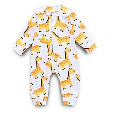 billige Babytøj-Baby Pige Gade Daglig Trykt mønster Langærmet Polyester En del Gul