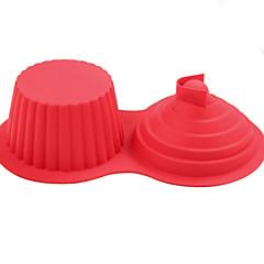 billige Bakeredskap-Bakeware verktøy Silikongel Kreativ Kjøkken Gadget Originale kjøkkenredskap Cube Dessertverktøy 1pc