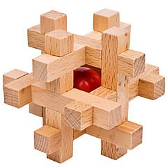 baratos -Cubos mágicos Quebra-Cabeças de Madeira Quebra-Cabeças Inteligentes Nível Profissional Velocidade De madeira 12pcs Clássico Para Meninos