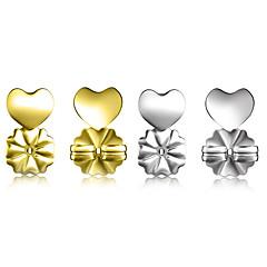 Γυναικεία Γεωμετρική Κουμπώματα - 18Κ Χρυσό Καρδιά Στυλάτο Απλός Μοναδικό  Μοντέρνο Ρομαντικό Κοσμήματα Χρυσό   Ασημί Για Αρραβώνας Δώρο Βραδινό Πάρτυ  ... 7ef699d5d0f
