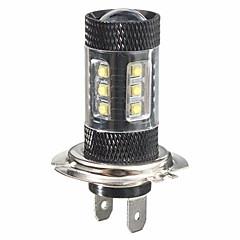 billige Kjørelys-1 Deler H7 Bil Elpærer 8 W 780 lm 16 LED Tåkelys / Dagkjøringslys / Blinklys Til Universell / Toyota / Mercedes-Benz Alle Modeller Alle år