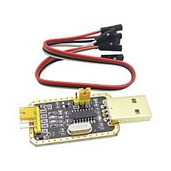 رخيصةأون -ch340g rs232 لتر USB إلى وحدة ttl إلى المنفذ التسلسلي في لوحة صغيرة تسعة الترقية
