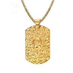 Ανδρικά Κλασσικό Κρεμαστά Κολιέ Ανοξείδωτος Μοντέρνα Απίθανο Χρυσό 60 cm  Κολιέ Κοσμήματα 1pc Για Δώρο Καθημερινά f1545565a2d
