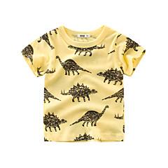 رخيصةأون ملابس الأولاد-كنزة مطبوعة كم قصير طباعة للصبيان أطفال