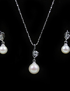 preiswerte Schmuck Ausverkauf-Damen Gold Anderen Schmuck-Set Ohrringe / Halsketten - Regulär Für Hochzeit / Party / Jahrestag