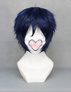 cheap Anime Cosplay-Cosplay Wigs Blue Exorcist Rin Okumura Anime Cosplay Wigs 30 CM Heat Resistant Fiber Male