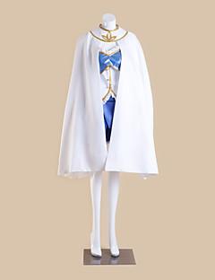 """billige Anime cosplay-Inspirert av Puella Magi Madoka Magica Sayaka Miki Anime  """"Cosplay-kostymer"""" Cosplay Klær Lapper Ermeløs Topp Skjørte Ermer Kappe Til"""