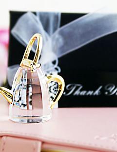 Brud Brudepige Blomsterpige Ringbærer Krystal Krystal Varer Bryllup Fødselsdag