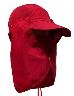 tanie Odzież turystyczna-Czapka wędkarska Czapka z filtrem UV Cap Quick Dry Filtr przeciwsłoneczny Camping & Turystyka Kolarstwo / Rower Męskie Damskie Jendolity