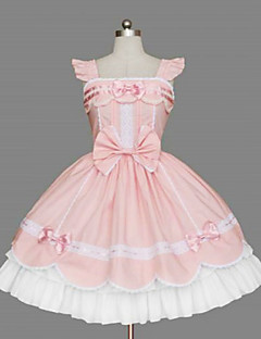 달콤한 로리타 스위트 로리타 프린세스 여성 한 조각 드레스 코스프레 민소매