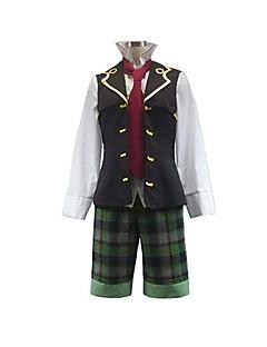 """billige Anime Kostymer-Inspirert av Pandora Hjerter Oz Vessalius Anime  """"Cosplay-kostymer"""" Cosplay Klær Lapper Langermet Vest / Trøye / Shorts Til Herre"""