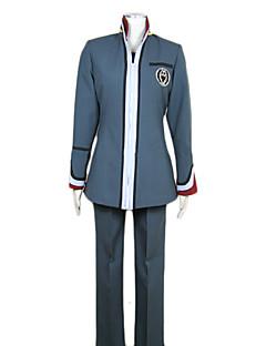 billige Anime Kostymer-Inspirert av Hiiro no Kakera Cosplay video Spill Cosplay Kostumer Cosplay Suits Lapper Gray Topp