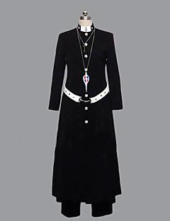 """billige Anime Kostymer-Inspirert av Blå Eksorsist Shirou Fujimoto Anime  """"Cosplay-kostymer"""" Cosplay Klær Lapper Langermet Frakk / Bukser / Belte Til Herre Halloween-kostymer"""