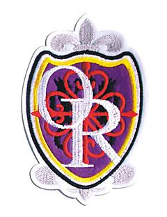 Smykker / Emblem Inspirert av High School Host Club Tamaki Suou Anime Cosplay Tilbehør Emblem Svart / Rød / Gul / Purple Polyester Mann