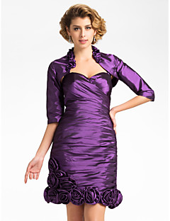 cheap Wedding Wraps-Taffeta Wedding Party Evening Wedding  Wraps Coats / Jackets