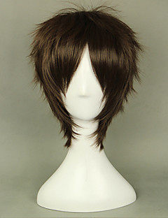 cheap Anime Cosplay Wigs-Cosplay Wigs Attack on Titan Eren Jager Anime Cosplay Wigs 35 CM Heat Resistant Fiber Men's